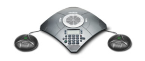 Teleconferencing phone