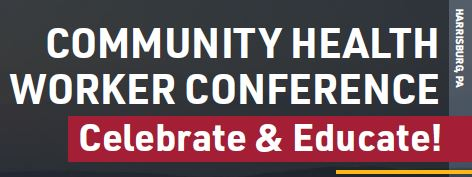 Community Health Worker Conference Banner