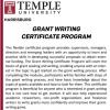 Grant Writing Certificate Program