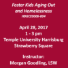 Foster Kids Aging Out and Homelessness