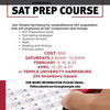 SAT Prep Course Information