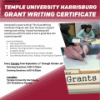 News Flyer:Temple Harrisburg Introduces Fall Grant Writing Series
