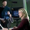 Staff in recording studio