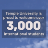 Temple proudly welcomes 3,000 international students