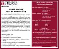 Grant Writing Certificate Program